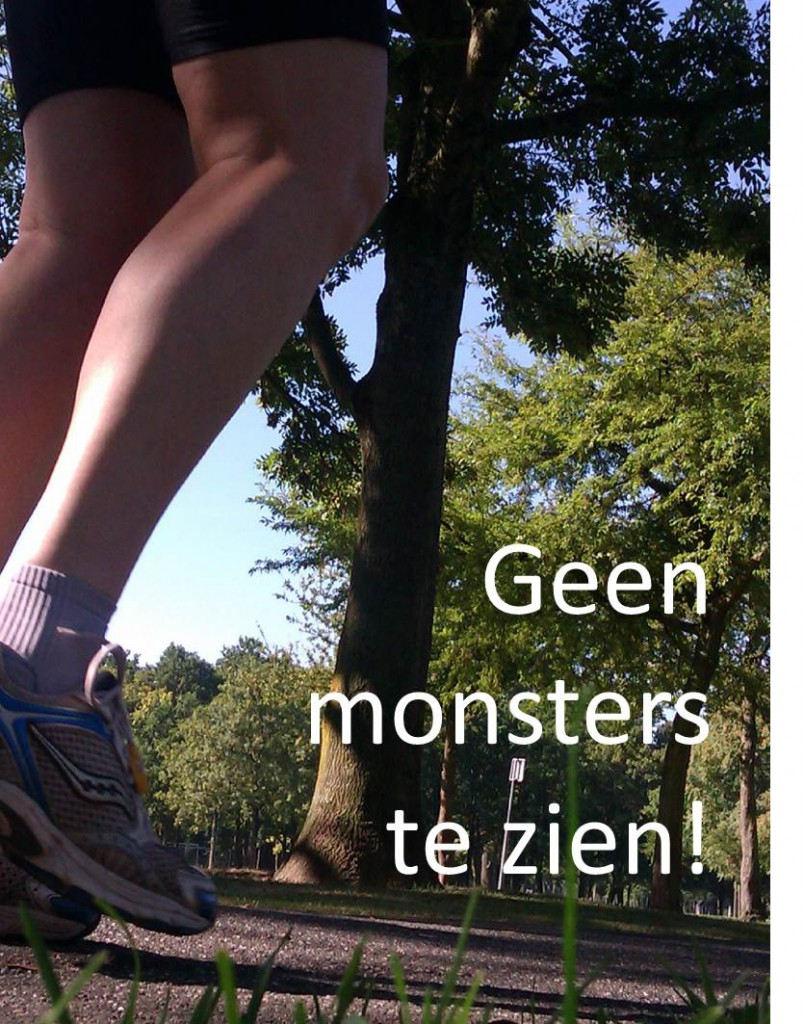 geen monsters te zien